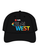 NAB RunWest Sports Cap - Black