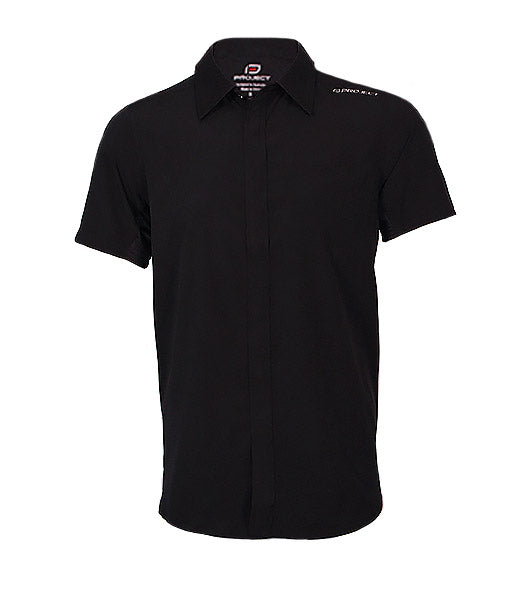 Men's Button Up Shirt Black