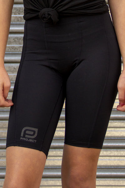Youth V3 Compression Short - Black