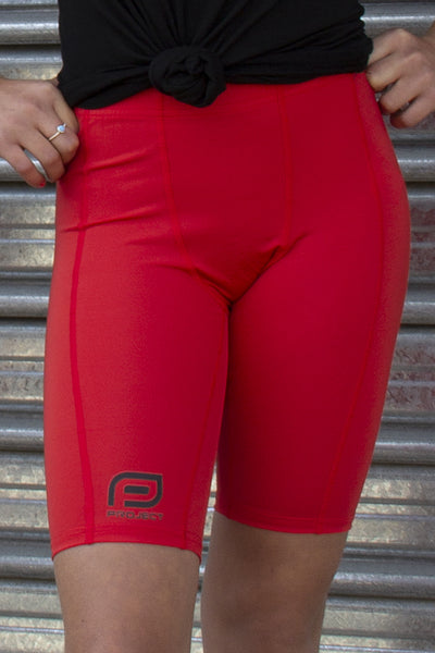 Youth V3 Compression Short - Red