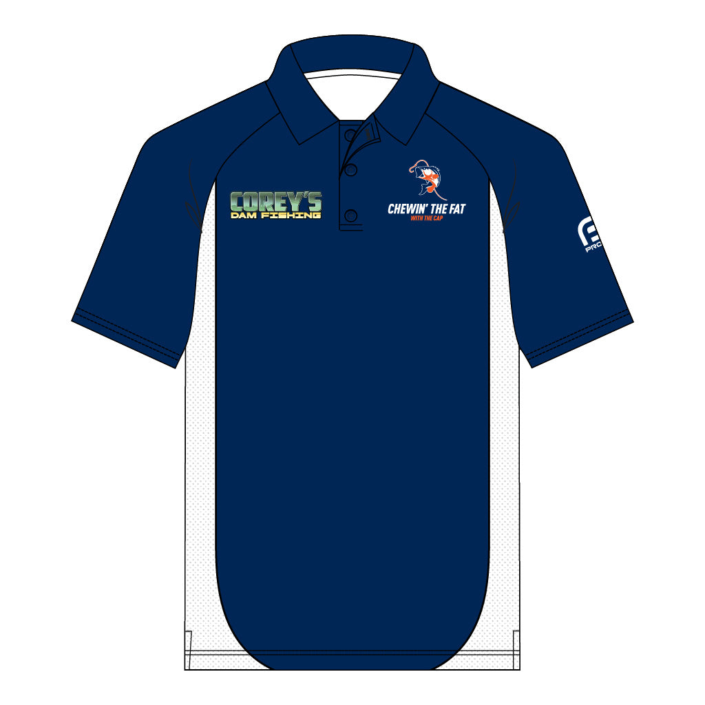 Corey's Men's Short Sleeve Elite Polo
