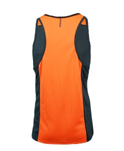Men's Escape Singlet - Orange