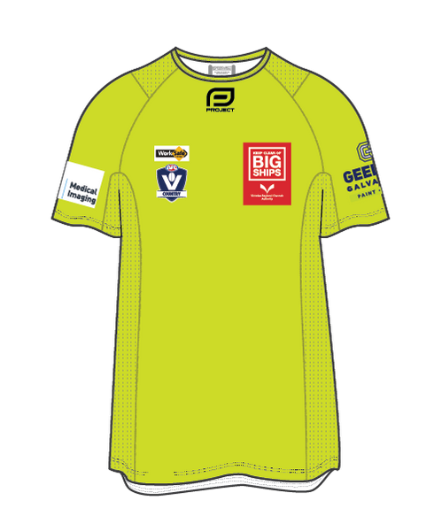 Geelong Men's Active Umpire Tee