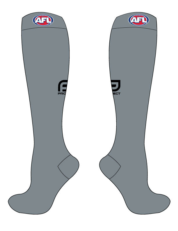 AFL Umpire Sock - Grey