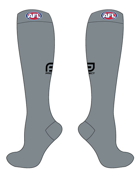 AFL Unisex Umpire Sock - Grey
