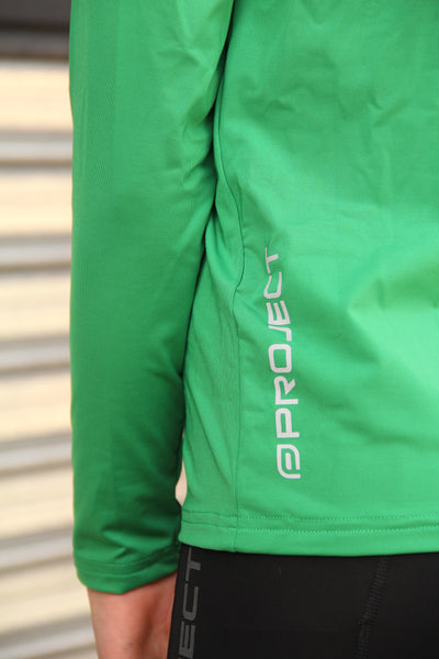 Youth Long Sleeve Compression Top - Green