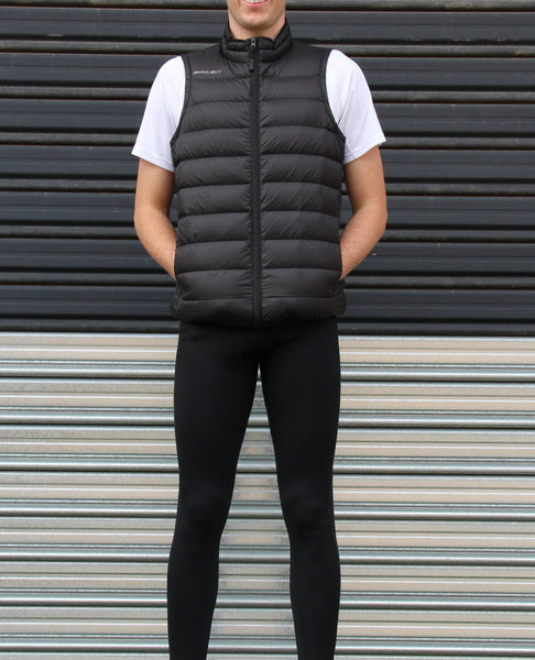 Men's 500 Down Vest - Black