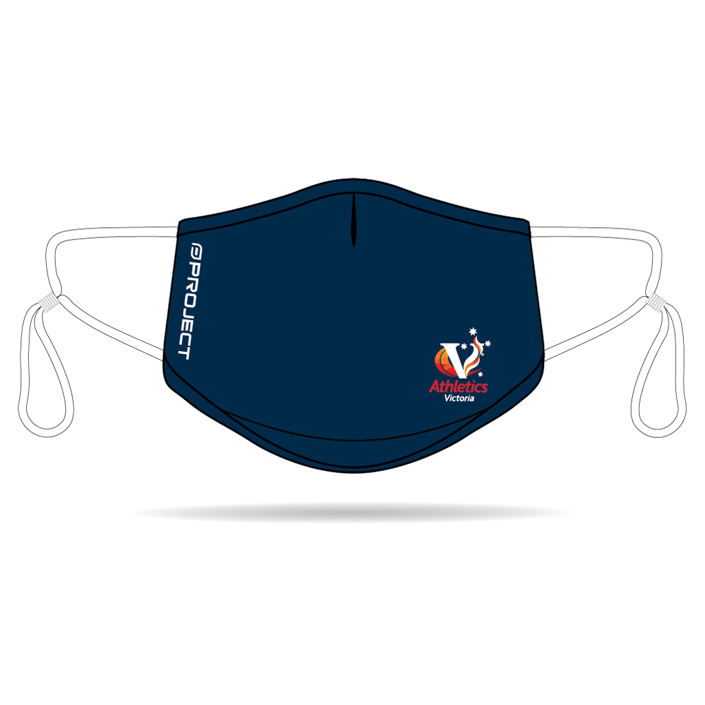 Athletics Victoria Anti-Bacterial Reusable Mask 5 Pack