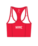 Women's Crop Top - Red