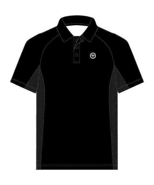 SW23 Golf Performance Polo - Black