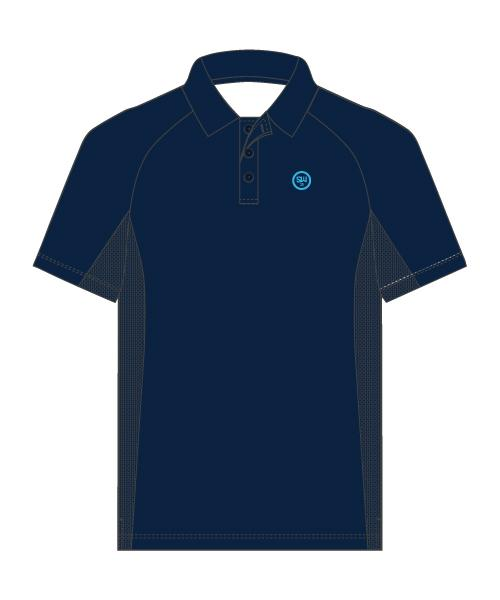 SW23 Golf Performance Polo - Navy