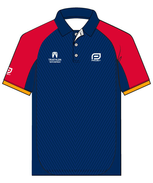 Triathlon SA Club Men's Elite Polo
