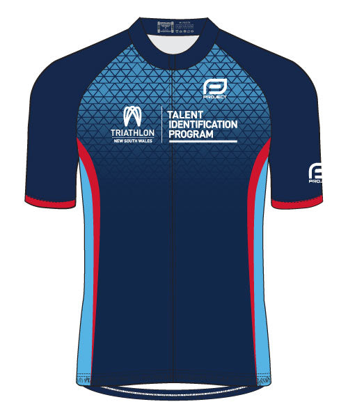 Tri NSW Talent ID Men's Race Fit Cycle Jersey
