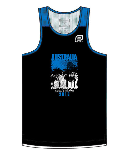 Kona 2019 Men's Escape Singlet (Team Aus)
