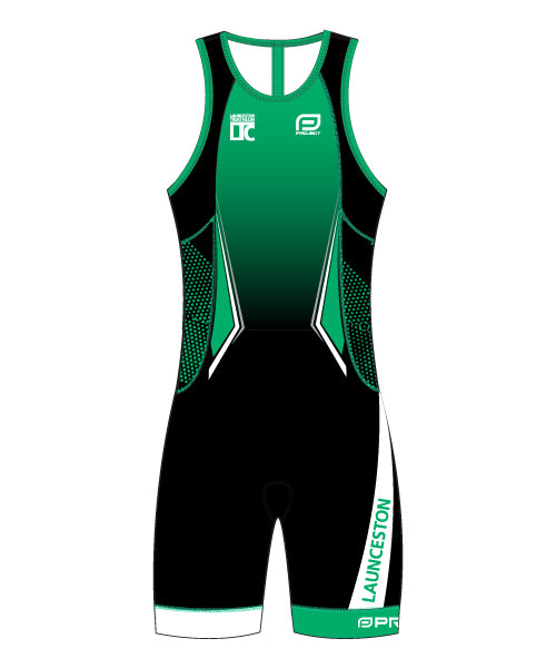 Launceston Tri Club Youth Classis Trisuit (Front Zip)