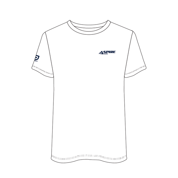 Aspire 2020 Men's Casual Tee - White
