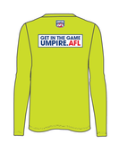 PFUA Men's Long Sleeve Umpire Tee
