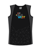NAB RunWest - Men's Training Tank Black