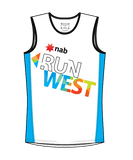 NAB RunWest - Men's Training Tank Blue