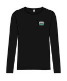 Donvale FC - Men's Long Sleeve Casual Tee - Black