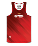 Stawell 2020 Men's Escape Singlet - Red