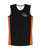 NAB RunWest - Men's Training Tank Orange