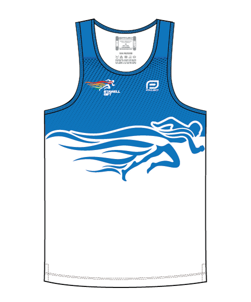 Men's Escape Singlet - 2019 - Blue