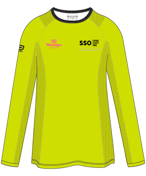 SSO Unisex Long Sleeve Active Tee - optional