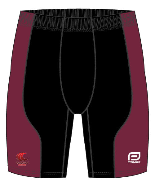 Men's Athletic Compression Shorts (Longer Length)
