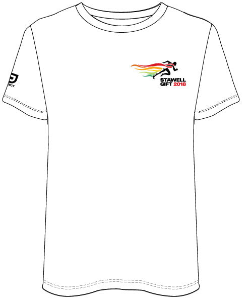 Men's Casual Tee - White