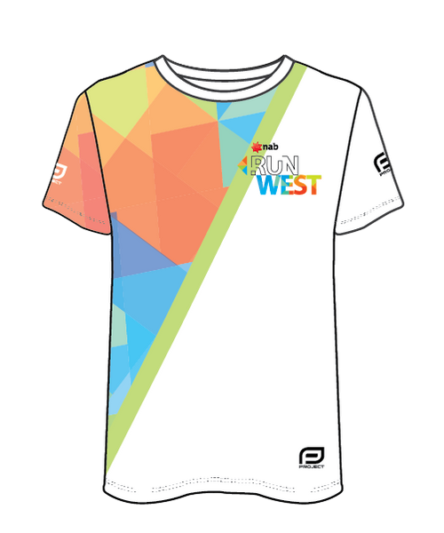 NAB RunWest - Men's Sublimated Run Tee