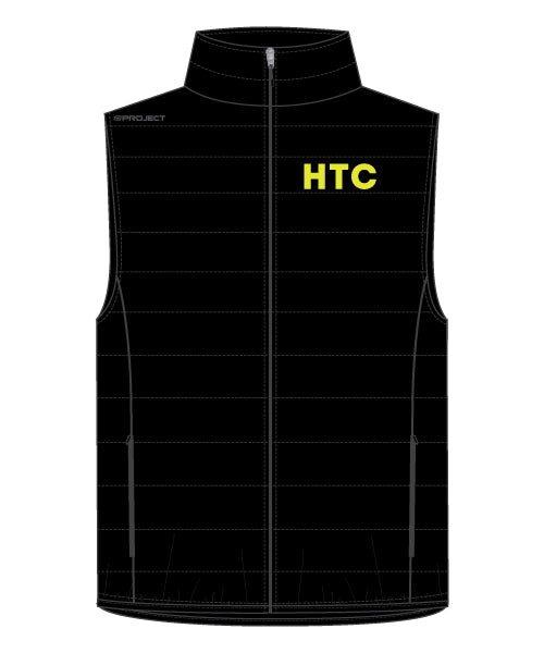 HTC Men's 500 Down Vest - Black