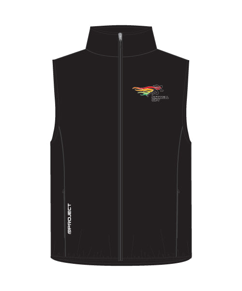 Men's Shell Membrane Vest - Black
