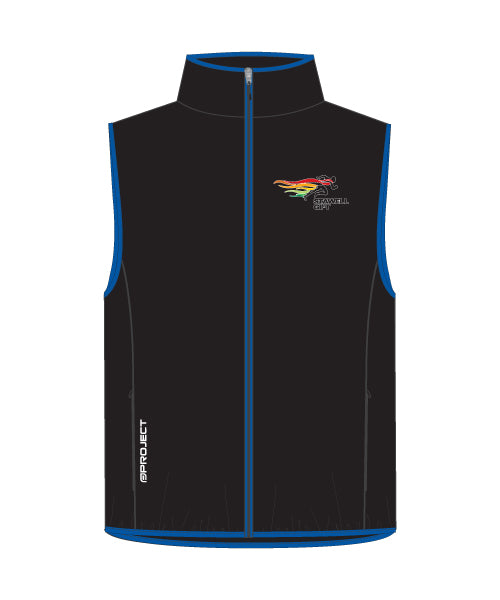 Men's Shell Membrane Vest - Black/Blue