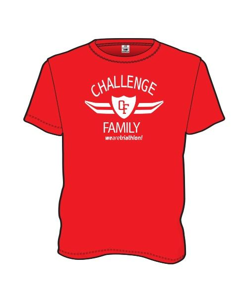Challenge Global Tee - Red - Mens