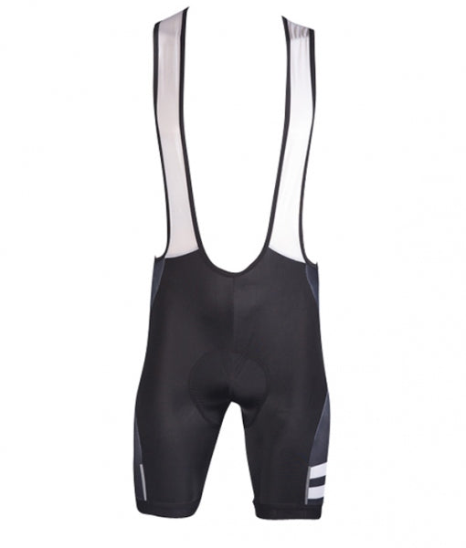 Men's Cycle Bib Short - Black/White