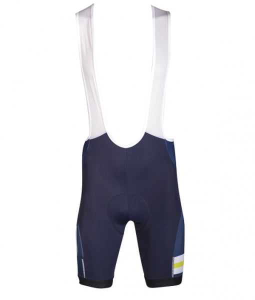 Men's Cycle Bib Short - Lime/Navy