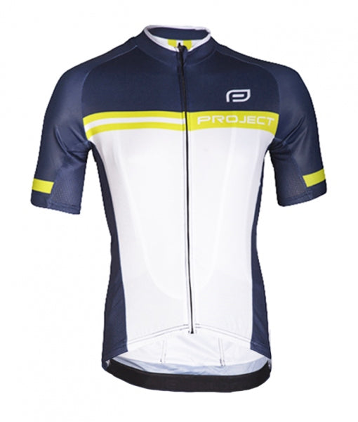 Men's Elite Cycle Jersey - NAVY/LIME