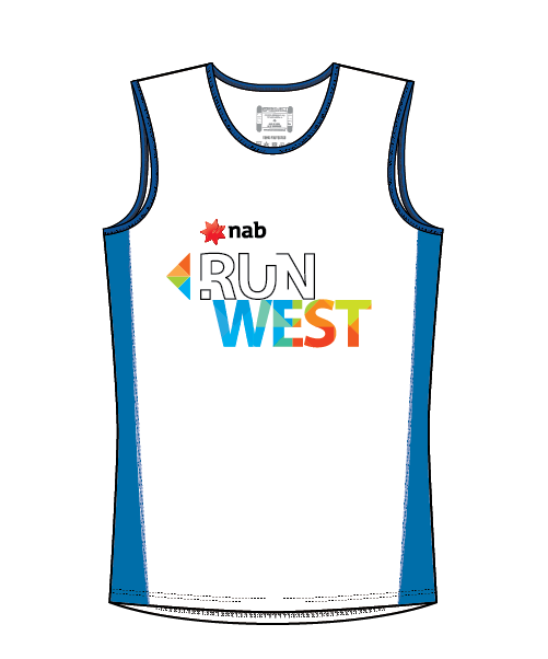NAB RunWest - Men's Training Tank