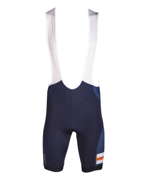 Men's Cycle Bib Short - NAVY/ORANGE