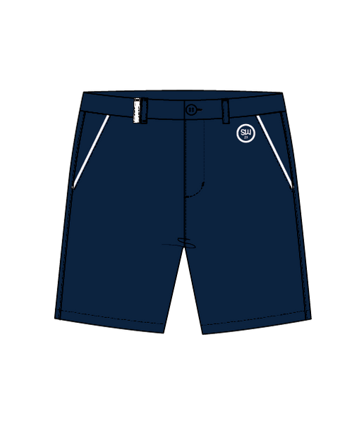 SW23 Golf Shorts - Navy/White