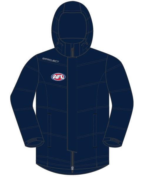 AFL Off Field Unisex Storm Jacket - Navy