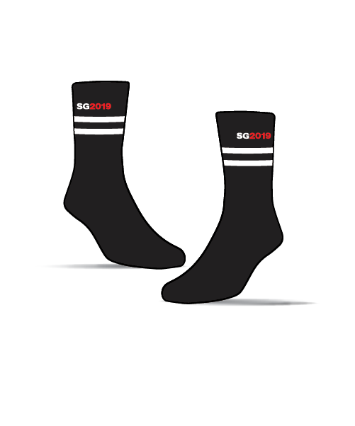 Stawell Gift Sock - 2019 - Black