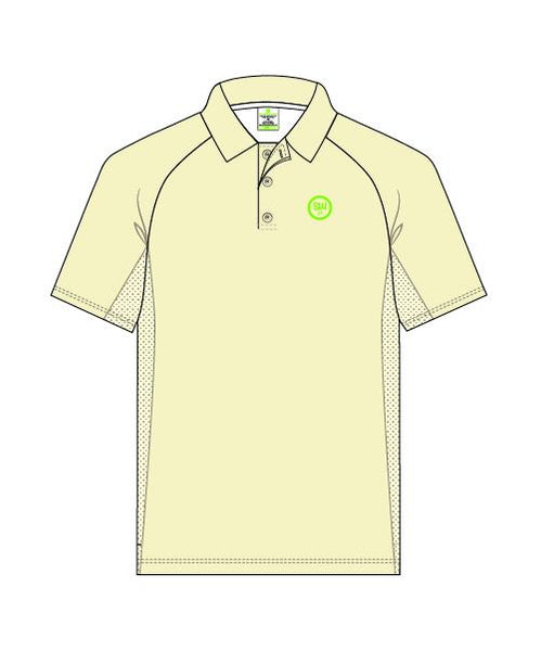 SW23 Men's Short Sleeve Elite Polo - Creams