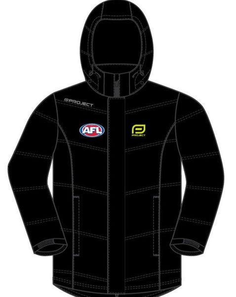 AFL Off Field Unisex Storm Jacket - Black