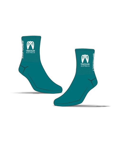 Tri Australia Unisex Cycle Socks