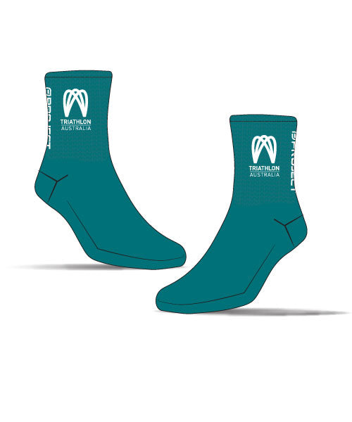 Kona 2019 Unisex Cycle Sock (Green)