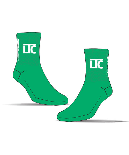 Launceton Tri Club Unisex Cycle Sock