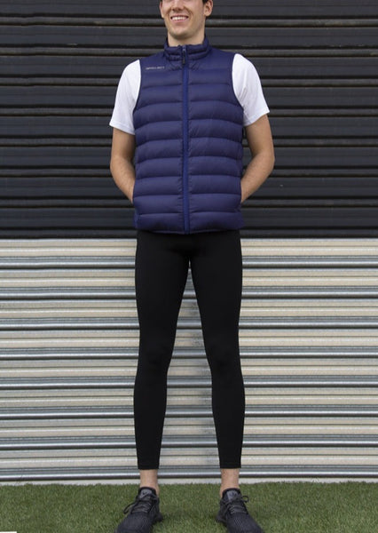 Men's 500 Down Vest - Navy
