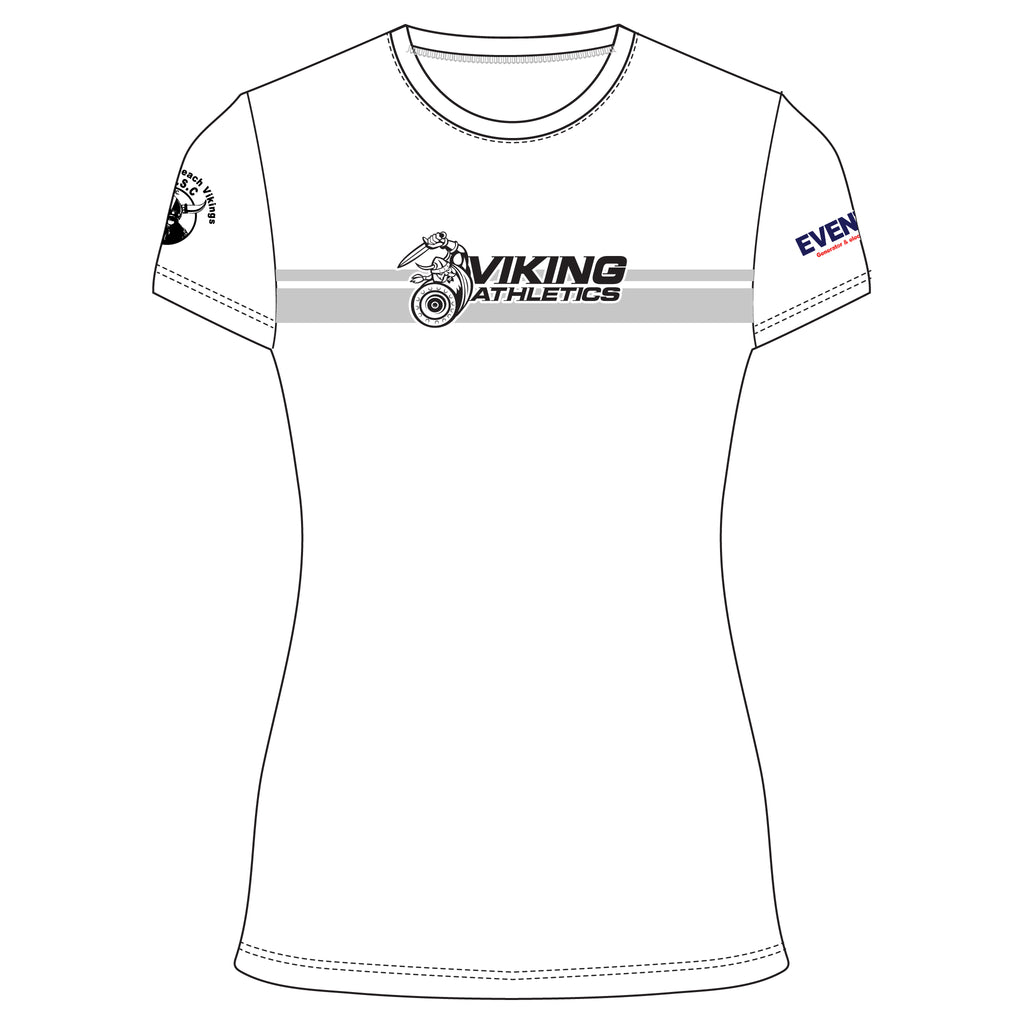 Vikings Athletics 2020 Women's Cotton Tee - White